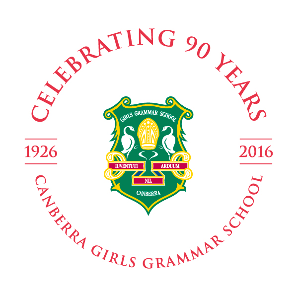 Canberra Girls Grammar Crest - Celebrating 90 years - 1926-2016