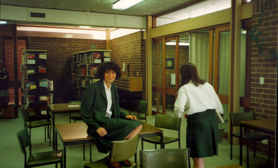 Image for photo: 1991 in Library (card catalogue on wall).jpg