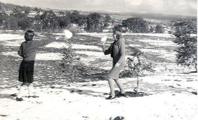 Image for photo: Daryl & Barb W 1965 - CCEGGS oval in background.jpg