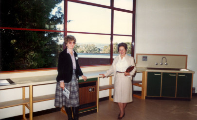 Image for photo: Inside of Waterman Centre 1984.jpg
