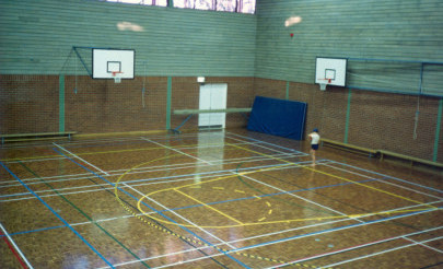 Image for photo: New Gym opens Senior School 1987.jpg