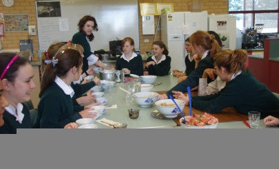 Image for photo: Yr 9 Cooking up a feast .jpg